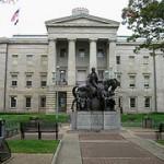 North Carolina Capitol Building by Dave Crosby